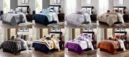 3PC BED DUVET COVER SET MEN WOMEN DESIGNS FLORAL COUNTRY IN