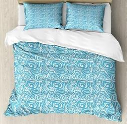 Balinese Duvet Cover Set Twin Queen King Sizes with Pillow S