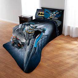 Batman Guardian Speed Bed in a Bag Full Size 4 PC Bedding Se