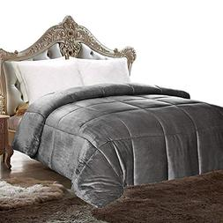 Utopia Bedding Comforter Sherpa Flannel - All Season - Machi