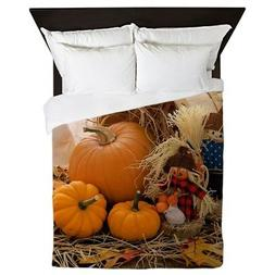 CafePress - Fall Season - Queen Duvet