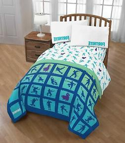 Jay Franco Fort 5-Piece Twin Comforter and Sheet Set Bedding