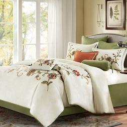 Harbor House MADELINE King or Queen Comforter  SET 4-pcs Cle