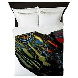 CafePress HEADS UP Queen Duvet