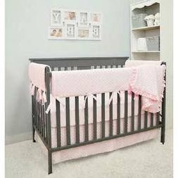 American Baby Company Heavenly Soft 6 Piece Crib Rail Beddin
