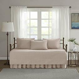 Kienna Daybed Set  Stitched Quilt Pattern-1 Bed Spread,1 Bed