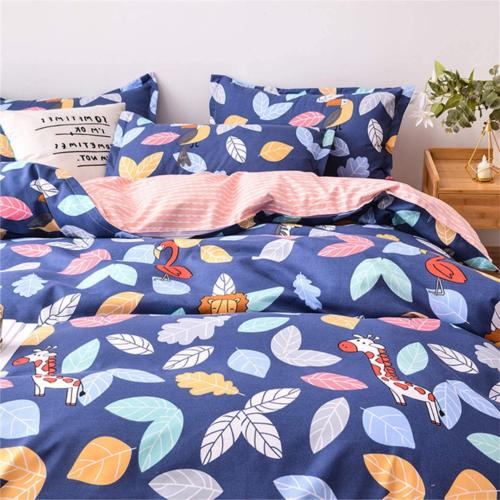 "Blue Duvet Set Bedding Sets 90""x90"""
