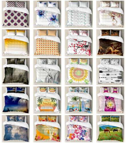 Ambesonne Decorative Bedroom Bedding Set with Duvet Cover