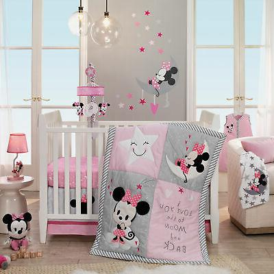 disney baby minnie mouse pink 4 piece