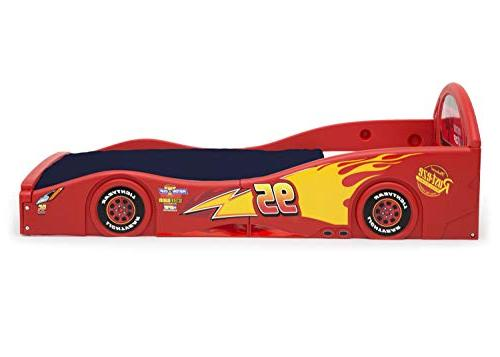 Disney Pixar Cars Lightning McQueen and Play Bed with Attached Delta Children