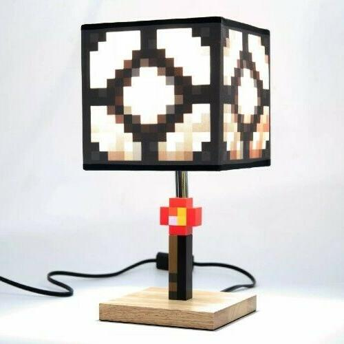 Minecraft sz Set w/ Accessories, Table Lamp, Cube