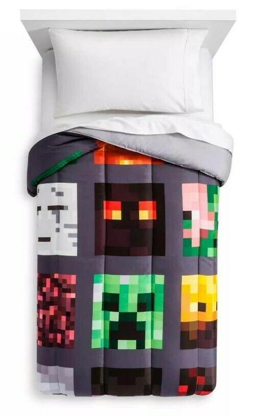 Minecraft sz Bedding Set Bedding, Table Cube