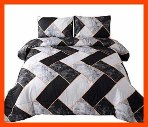 Marble Bedding Set For