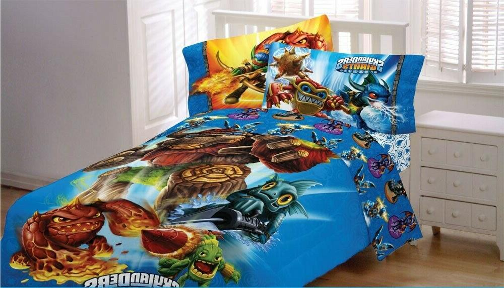nEw Spyro BED SHEET - Blue Game Accessories