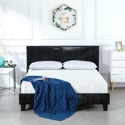 High Quality Hot Full Size Bed Frame Heavy Duty Mattress Pla