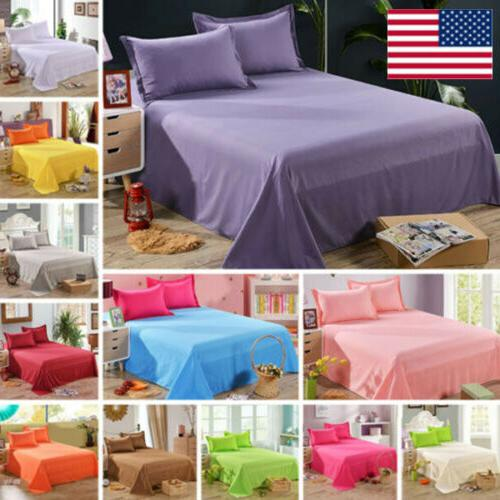 twin full queen size bed flat sheets