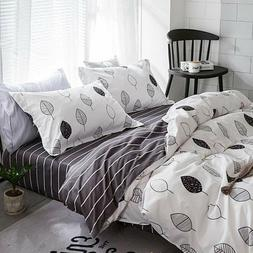 Marble Pattern Duvet Bedding Set Comforters Quilt Cover Bed