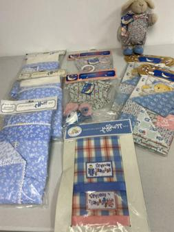 MUFFY VANDERBEAR BEDDING ACCESSORIES, QUILT, PAJAMA GAME OUT