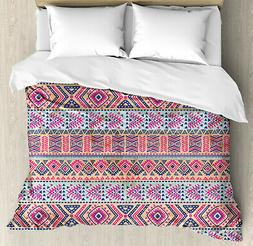 Native American Duvet Cover Set Twin Queen King Sizes with P