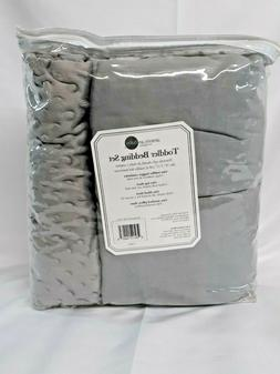 NEW- American Baby Company 100% Cotton 4-Piece Toddler Beddi