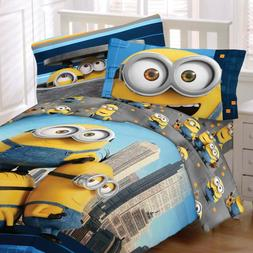 NEW Kids Despicable Me Minions Bedding Set Yellow Twin Comfo