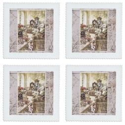 3dRose Queen and King of Hearts Alice in Wonderland Vintage