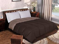 Superior Reversible Down Alternative Comforter, Medium Weigh