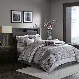 Madison Park Rhapsody King Size Bed Comforter Set Bed In A B