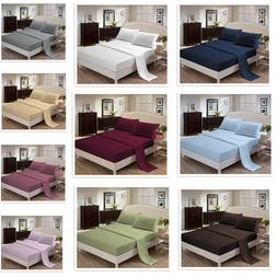 Sheets sets-1800 Series,Velvety Microfiber,pillowcase,fitted