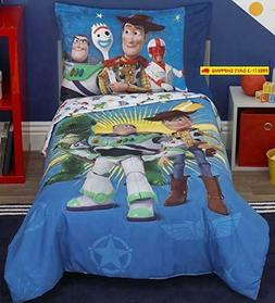 Toy Story 4 Toys In Action Toddler Bedding Set Comforter + S