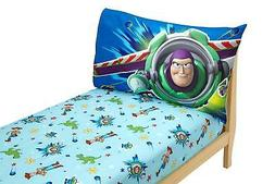 Disney Toy Story Power Up 2 Pack Fitted Sheet and Pillowcase