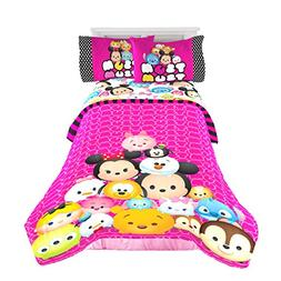 Disney Tsum Tsum Twin Full Reversible Comforter Kid Girl Bed