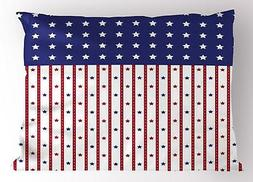 USA Pillow Sham Decorative Pillowcase 3 Sizes Bedroom Decor