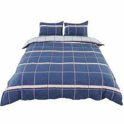 uxcell 2 Piece Bedding Duvet Cover Set, 1 Duvet Cover with 1