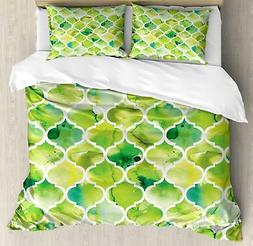 Watercolor Duvet Cover Set Twin Queen King Sizes with Pillow