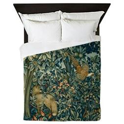 CafePress William Morris Greenery Queen Duvet